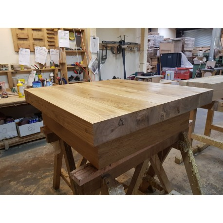 Square Coffee Tables Buy Floating Square Oak Sleeper Table Online