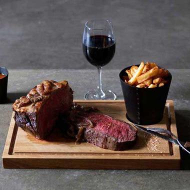 Solid Oak Steak Plate