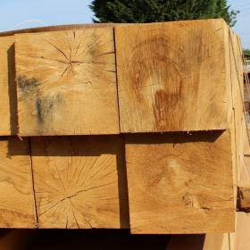 100 x 100 Green Oak Beams
