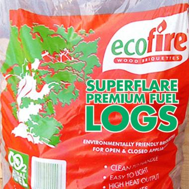 Ecofire SuperFlare Fuel Logs