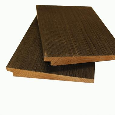VivaxBlack Rebated Featheredge ThermoWood Cladding