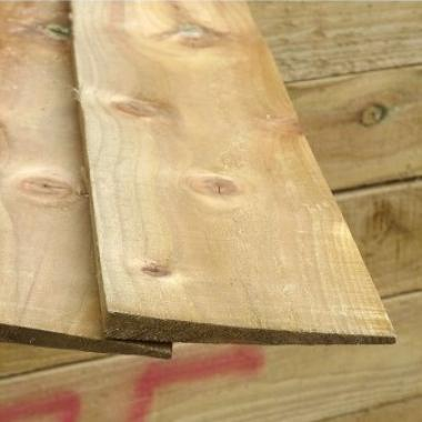 Treated Softwood Featheredge Board