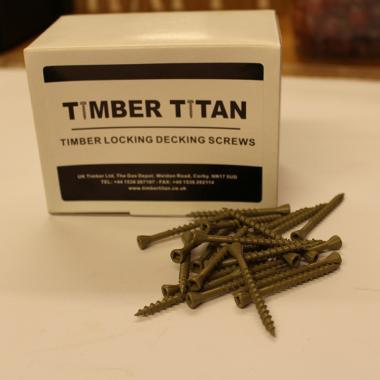 Timber Locking Decking Screws