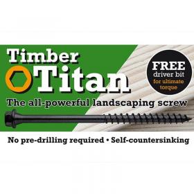 Timber Titan Heavy Duty Wood Screws Rugby
