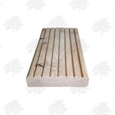 33mm Heavy Duty Untreated English Larch Decking