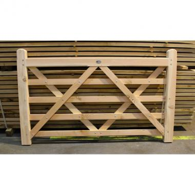 Untreated Larch/Douglas Fir Field Gate