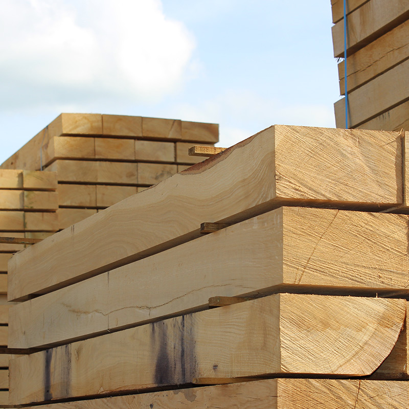 New Untreated Railway Sleepers | Buy New Untreated Oak Sleeper