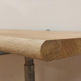Solid Oak Window Sill Board - 145mm x 20mm