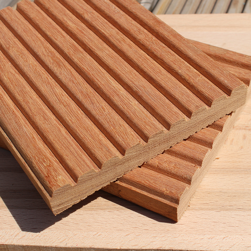Decking samples buy yellow balau decking sample online for Hardwood timber decking